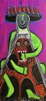 """Dust Love Acrylic on Canvas 35.5"""" x 28"""""""