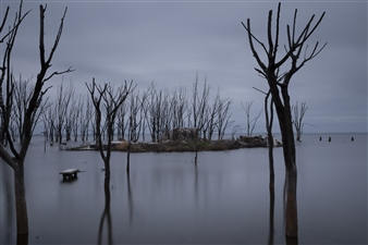 """Epecuen, Bs. As. #2 Digital Photography 23.5"""" x 35.5"""""""