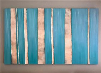 "Birch Forest Oil on Canvas 36"" x 60"""