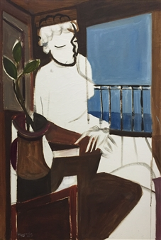 Sitter By A Window
