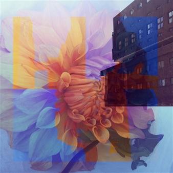 """Vibrancy Photo Collage 12"""" x 12"""""""