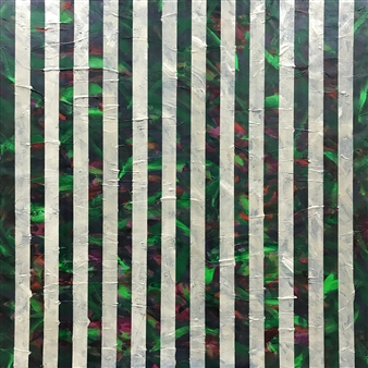 """Bamboo Forest II Acrylic on Canvas 48"""" x 48"""""""