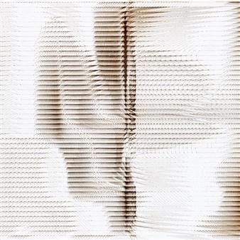 "Quakes 31 h Burnt Canvas 20"" x 20"""