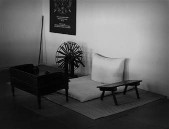 "Immortal Gandhi Photograph on Fine Art Paper 30"" x 41"""