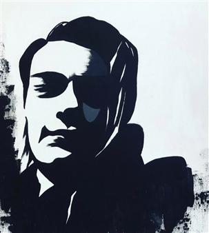 """AM37 Acrylic on Canvas 23.5"""" x 16"""""""