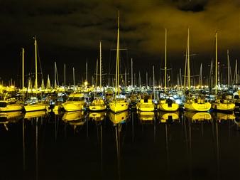 "Hendaye Harbor, France - Ho Tan Tien - France Photograph 0"" x 0"""