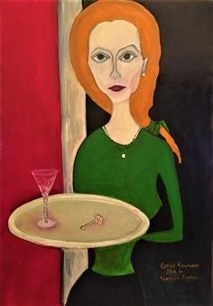"""Anna Oil on Canvas 39.5"""" x 28"""""""