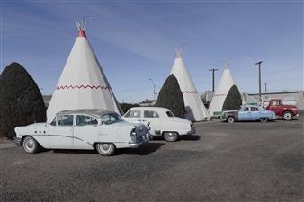 "Holbrook, Arizona. Digital Photography 23.5"" x 35.5"""