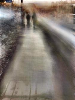 """A Distant Couple Archival Pigment Print 17"""" x 11"""""""