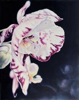 "Gentle Humm of Unspoken II Oil on Canvas 39.5"" x 31.5"""