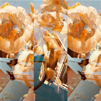 "Wonderment Photo Collage 12"" x 12"""