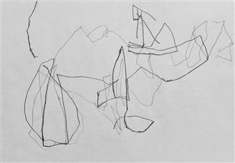 """VvA-E Pencil on Paper 12"""" x 16.5"""""""