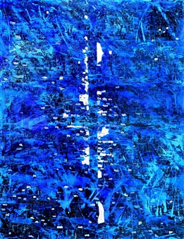 "Memento Mori 2 Mixed Media on Canvas 48"" x 36"""