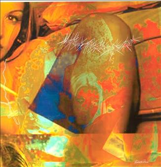"""Mary Magdalene Mixed Media on Aluminum 23.6"""" x 23.6"""""""