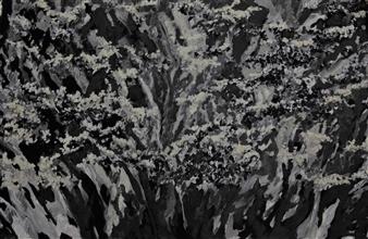 "When the Souls Escape Oil & Acrylic on Canvas 43.5"" x 65"""