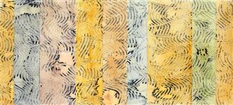 """Ocean Mystique Oil on Birch Panel 20"""" x 40"""""""