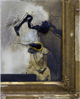 """Expectation Oil & Mixed Media on Wood 24"""" x 19.5"""""""