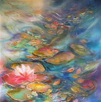 Water Lily Dance of a Dreaming Musician