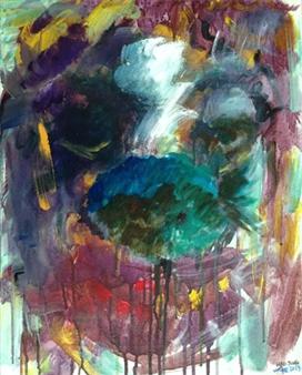 "Mirror, Mirror Acrylic on Canvas 20"" x 16"""