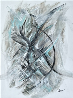 """Intertwined Acrylic on Canvas 40"""" x 30"""""""
