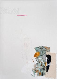 "Subtle Undoing No.11 Acrylic on Paper 12"" x 9"""