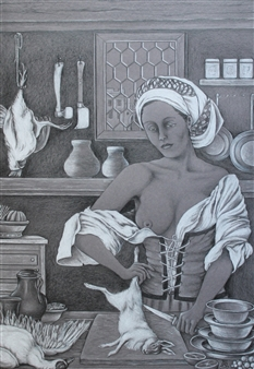 In the Castle Kitchen