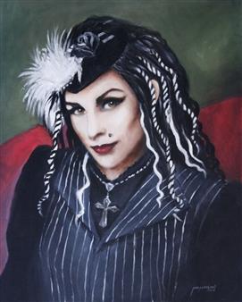 "Bella Luna Oil on Canvas 30"" x 24"""