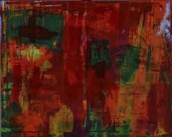 "Pele Acrylic on Canvas 24"" x 30"""