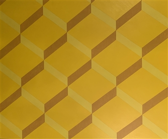 """The Contemporary #YELLOW Acrylic on Canvas 60"""" x 72"""""""