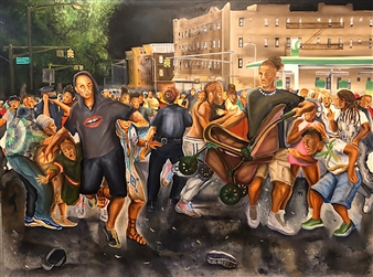 Shots Fired Jouvert Night
