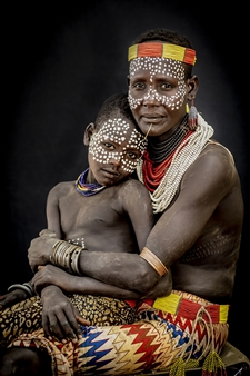 """Mother and Son Archival Pigment Print 40"""" x 30"""""""