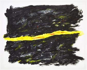 "Pathway Acrylic on Canvas 65.5"" x 80"""