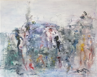 "Sway Acrylic on Canvas 28.5"" x 36"""