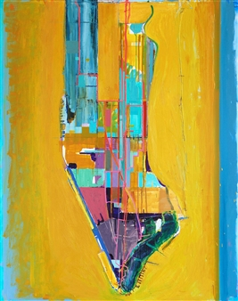 """City of Glass 6 –  (Pages 106 - 112) Oil on Canvas 59.5"""" x 47.5"""""""