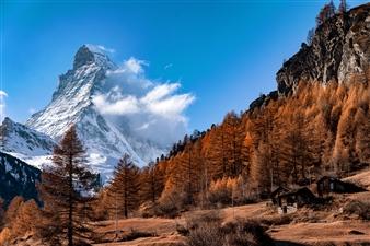 """Autumn Winds Matterhorn - Leif Jörgen Bele Bergström - Switzerland Photograph 0"""" x 0"""""""