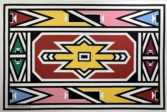 "Esther Mahlangu  0"" x 0"""