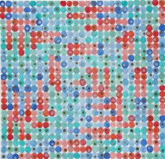 "Untitled 2 Acrylic on Canvas 31"" x 32"""
