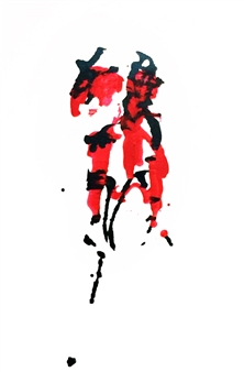 """Pleasure & Pain Acrylic on Canvas 36"""" x 24"""""""