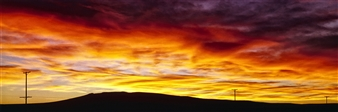 """New Mexico Sunset #5 Archival Pigment Print 60"""" x 172"""""""