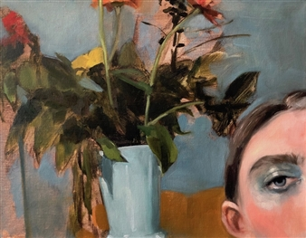 """No One Will Know Oil on Linen 11"""" x 14"""""""