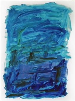 "Transitional Panorama Acrylic on Canvas 48"" x 36"""