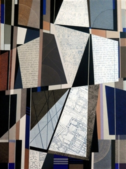 """Foro Romano 5 Mixed Media on Canvas 24"""" x 18"""""""