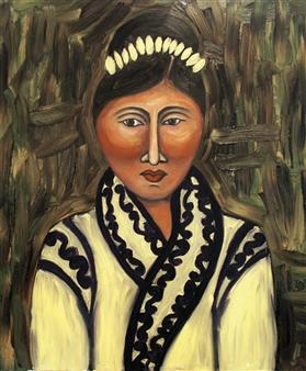 "Taiga Oil on Canvas 35.5"" x 31.5"""