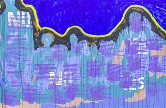 "Constant Acrylic on Canvas 48"" x 72"""