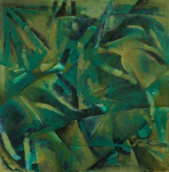 "Salvation Oil on Canvas 37"" x 37"""