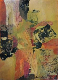 "Kimono Acrylic on Canvas 19.5"" x 15"""