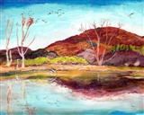 Nativescape Autumn Wetland Alive in Peak Pastel Color