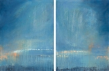 Reflective #1 and 2, diptych
