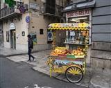 Sicilian Fruit Cart