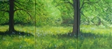 Bluebell Woodland Triptych